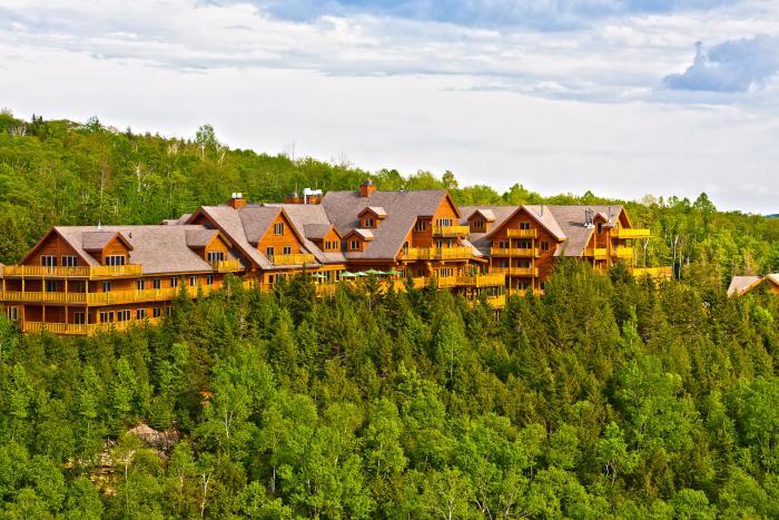 Hotel en pleine nature