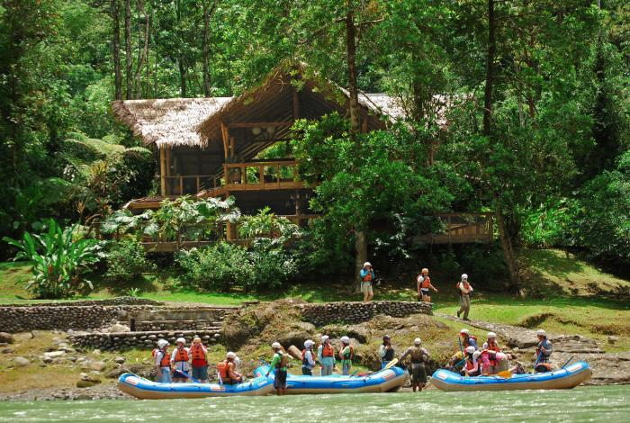 EcoLodge in the jungle