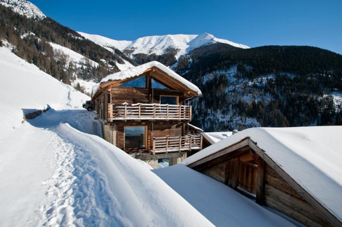 Alpine chalets